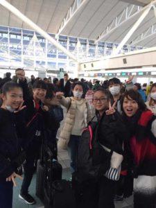 台湾遠征へ出発!!