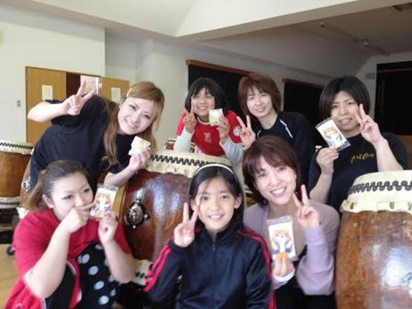 桜満開 太鼓&ヨガでパワーアップ!!